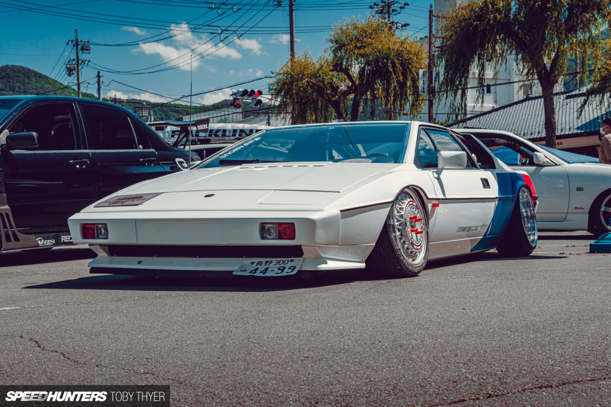 Living Out A Childhood Dream With A Slammed LotusEsprit