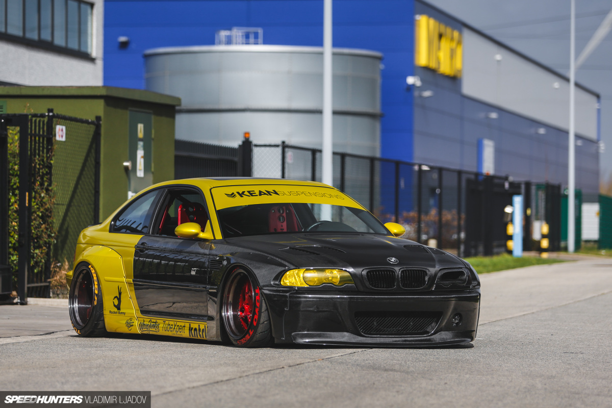 The Pandem E46 M3 With An ExtraTwist