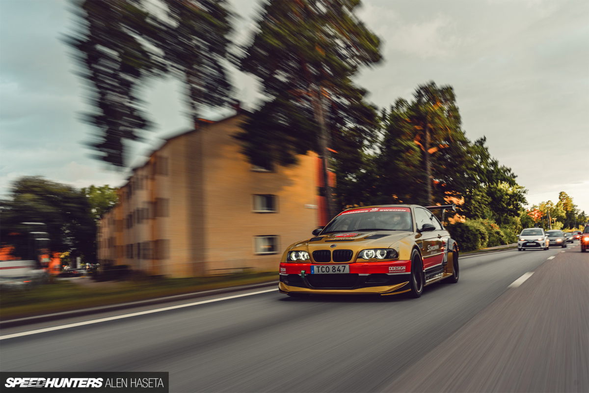 A Carbon-Kitted M3 For Sweden'sStreets