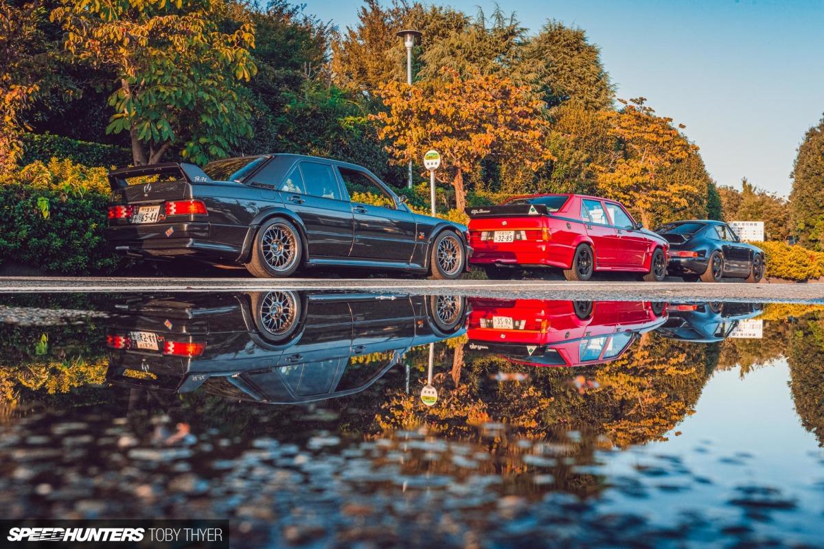 Keeping Family Ties Strong: A Mercedes 190E Evo, An Alfa 75 & A Porsche964