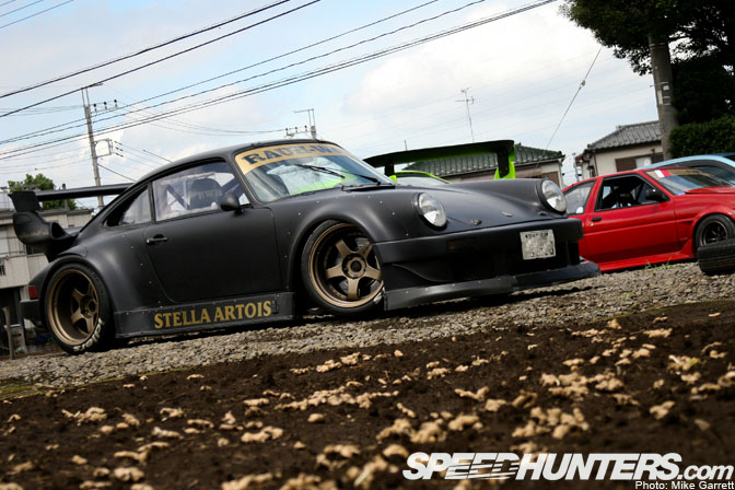 Targa Rwb Walpaper: Car Feature>>rwb Nakai Porsche 930