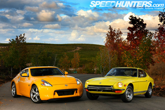 gallery nissan 370z vs datsun 240z speedhunters. Black Bedroom Furniture Sets. Home Design Ideas