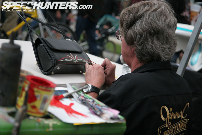 Gallery The Art Of Pinstriping Speedhunters