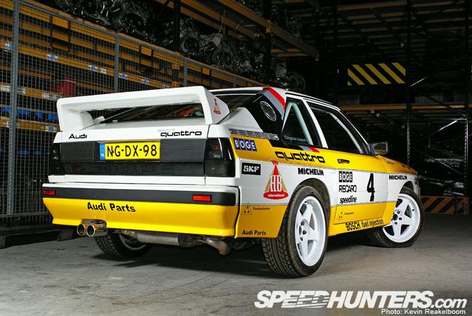 Car Feature Quattro Rally Replica Speedhunters