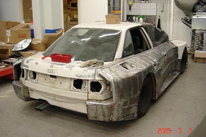 Retrospective>> Quattro Firepower: The Imsa Audi 90 Gto