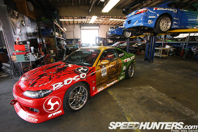 Car Feature Gt Gt The Garage Boso S15 Speedhunters