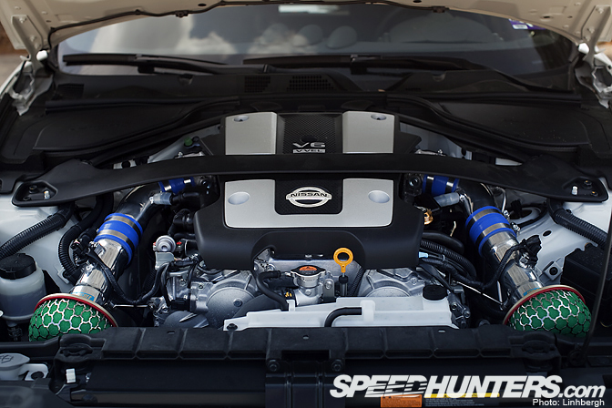 G37 Impul Headers