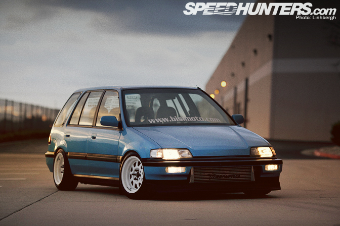 Car Feature>> Bisimoto Civic Shuttle - Speedhunters