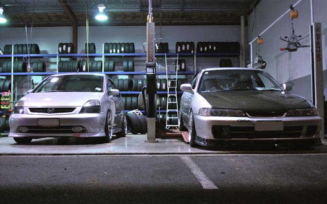 Random Snapu003eu003ein The Garage