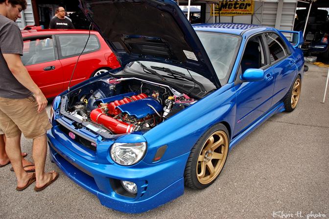 Random Snap>> 6 0l V8 Subaru Wrx - Speedhunters