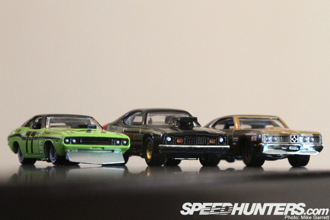 collectables>>the hot wheels vintage racing series - speedhunters