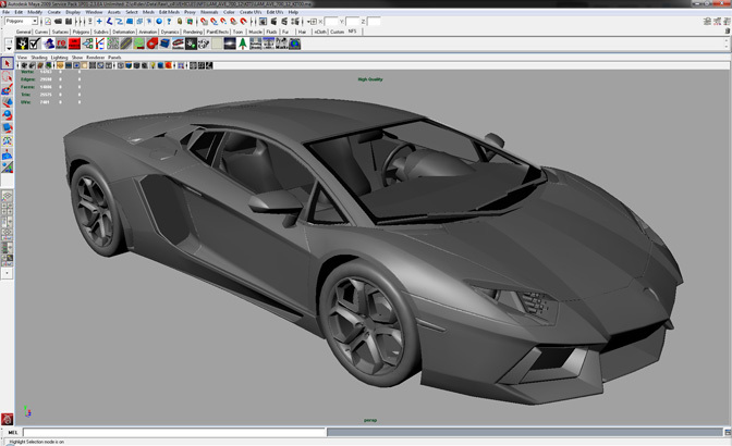 Behind The Scenes>> Creating The Cars For Need For Speed The