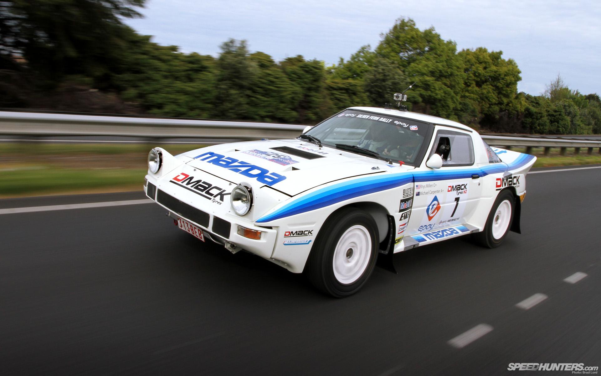 Retro Rally Rhys Millen S Group B Rx 7 Speedhunters