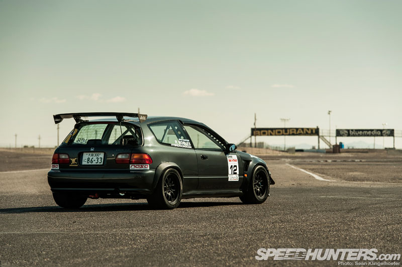 The Caged Beast Phil Robles Wide Civic Speedhunters