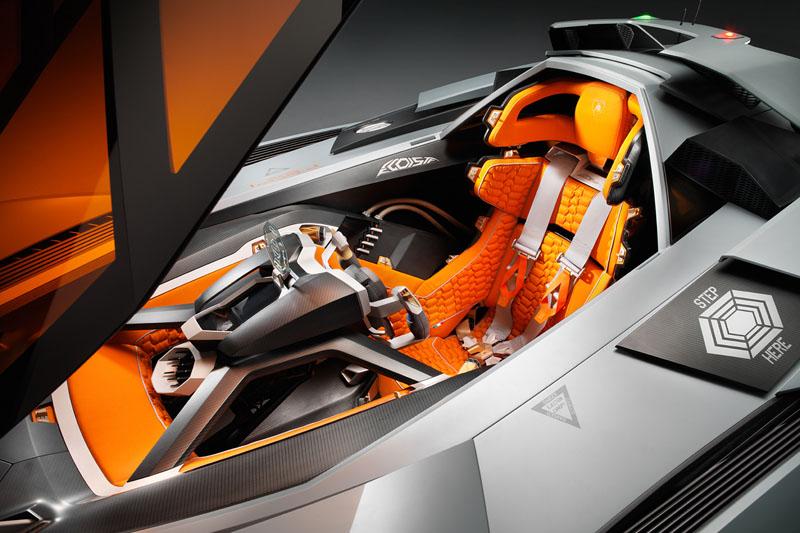 Fighter Jet For The Ground The Lamborghini Egoista Speedhunters
