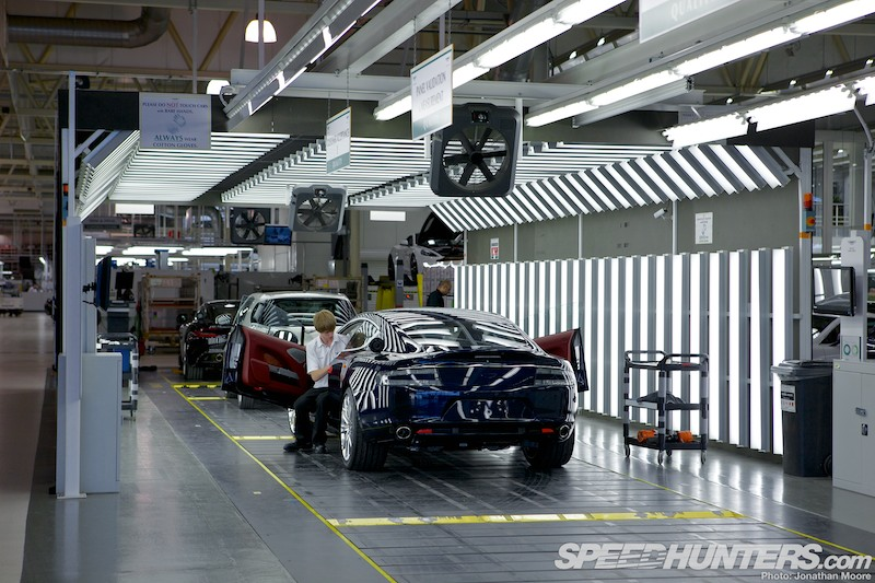 Aston Martin At Gaydon The Dream Factory Speedhunters