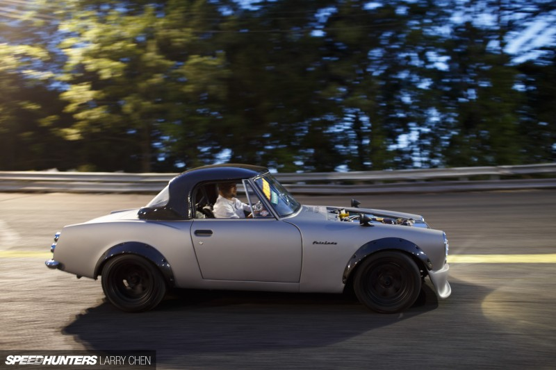 The Pursuit of Happiness:A Datsun Roadster With a Turbo