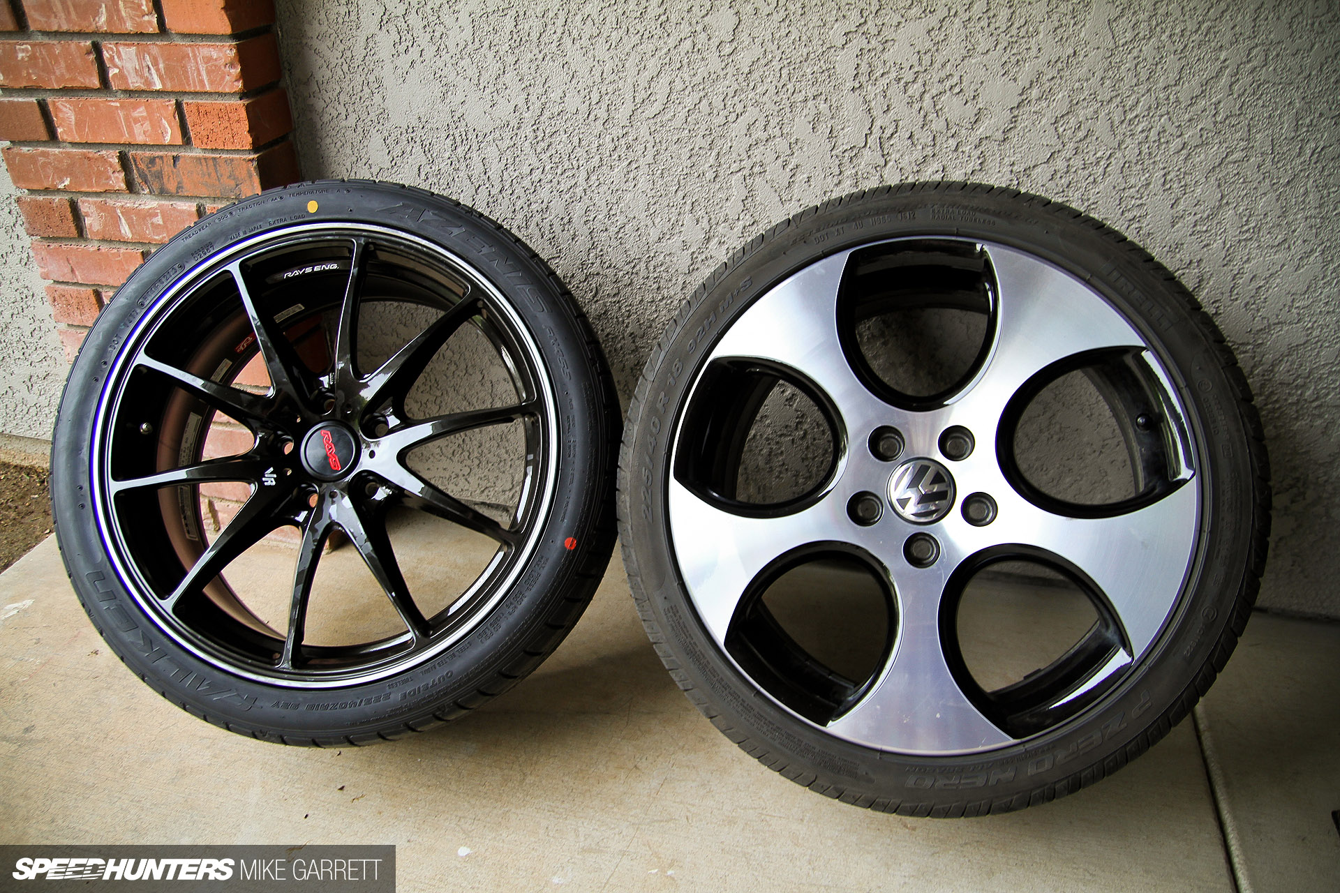 Tire Size Comparison >> Weight Down, Style Up: RAYS For Project GTI - Speedhunters