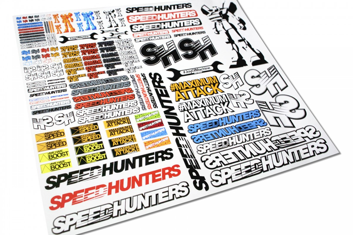 Speedhunters rc stickers 07 speedhunters