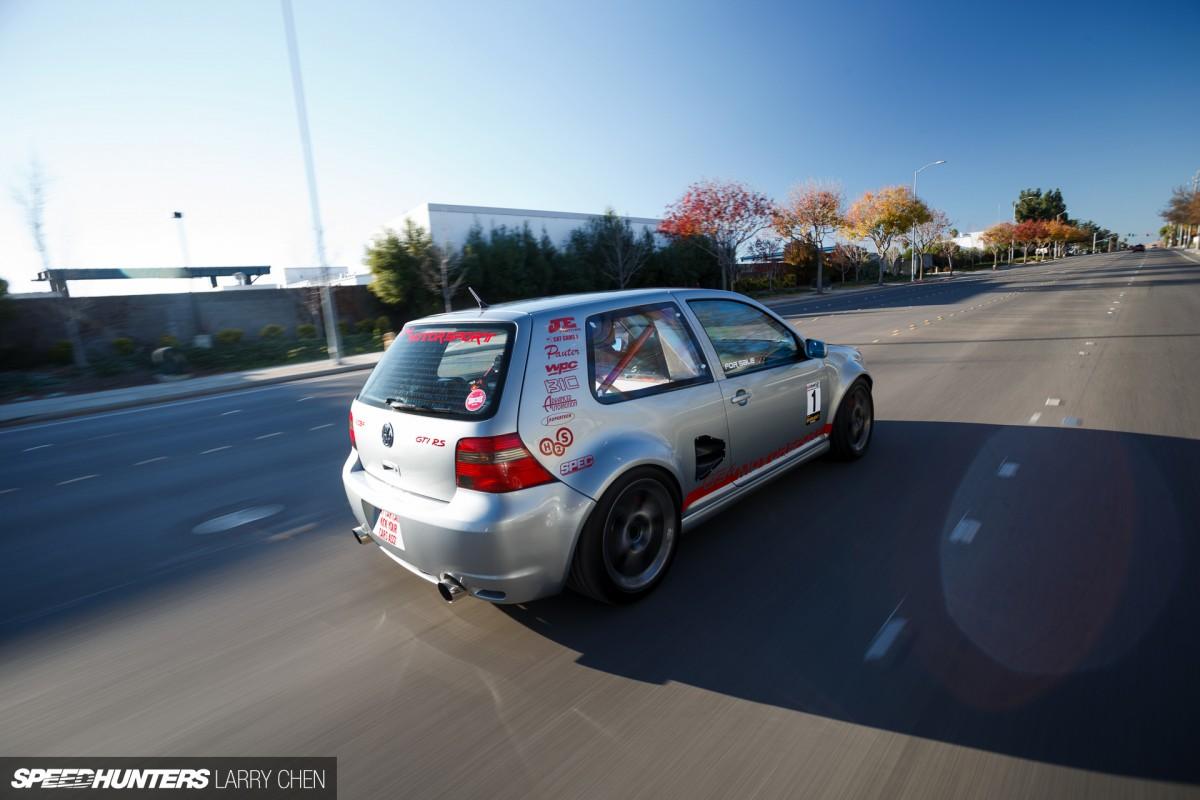Golf + Porsche + Audi = Mid-Engined Madness - Speedhunters