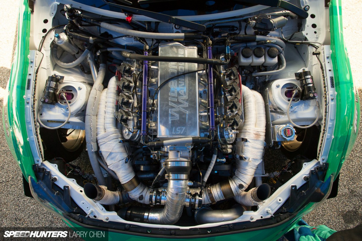 Pick Your Weapon The Engine Bays Of Formula Drift Speedhunters 5 7 Hemi Parts Schematic