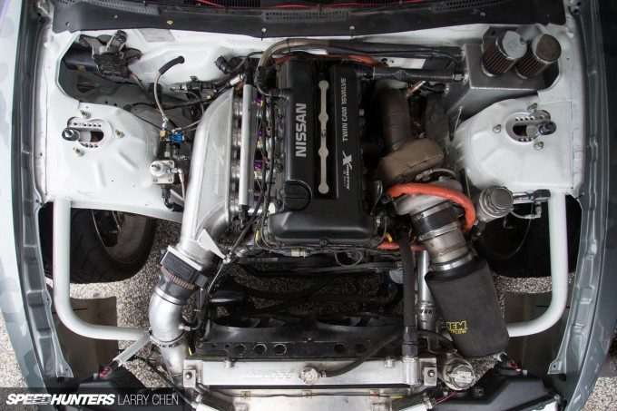 Pick Your Weapon: The Engine Bays Of Formula Drift