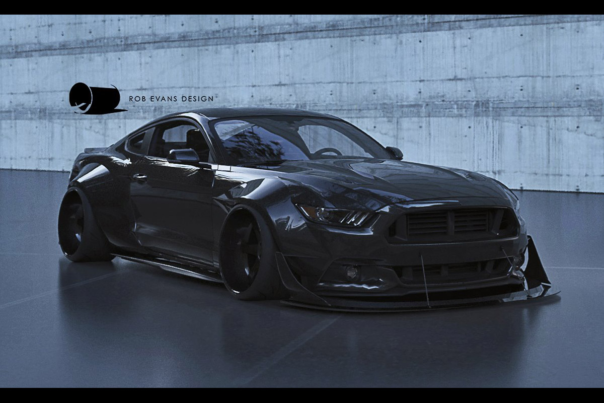 2015 Mustang To Wide Or Not To Wide Speedhunters