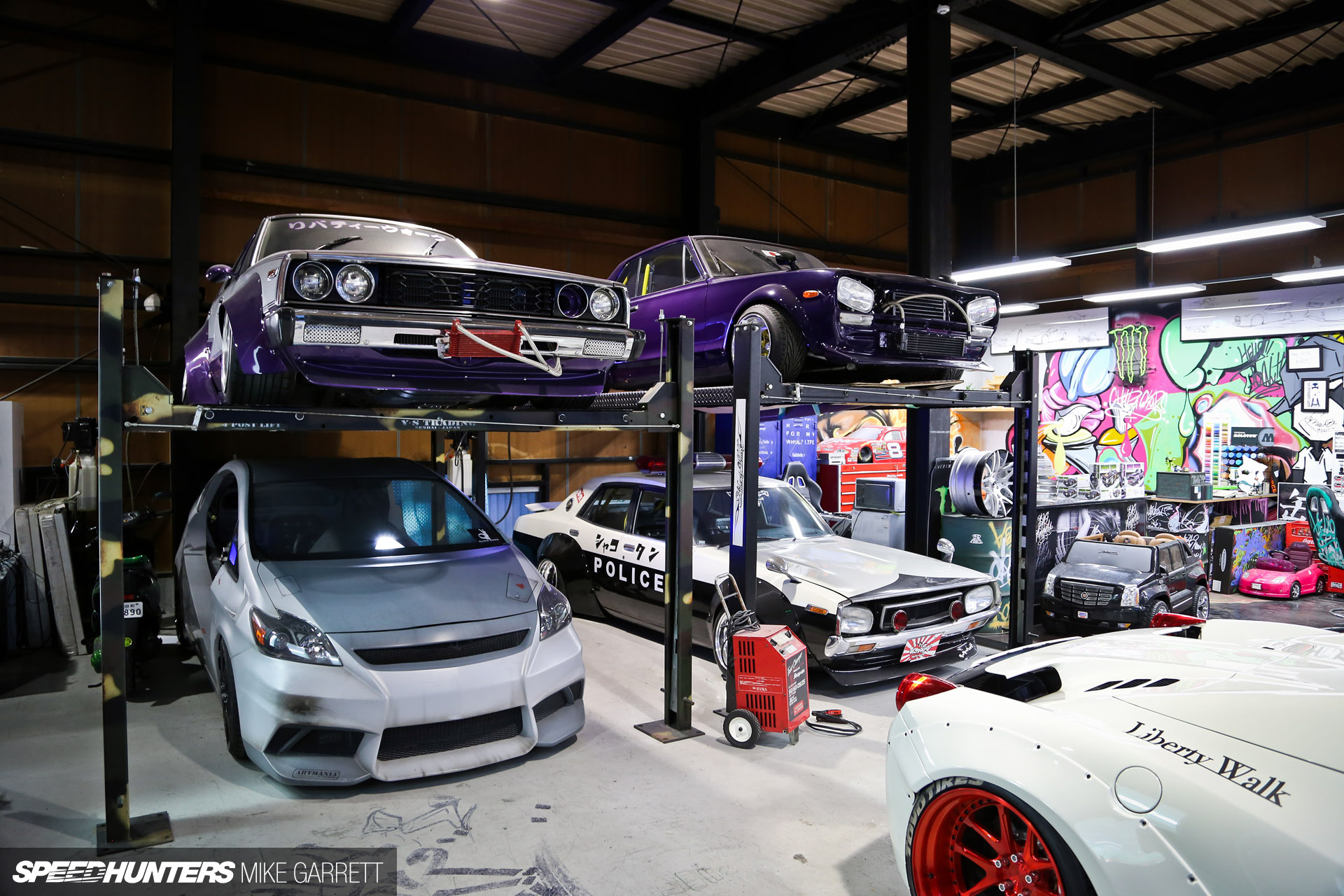 Let S Cut Up Some Supercars Inside Liberty Walk