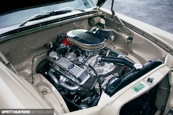 Old Benz, New Tricks: Slammed With a Small Block - Speedhunters