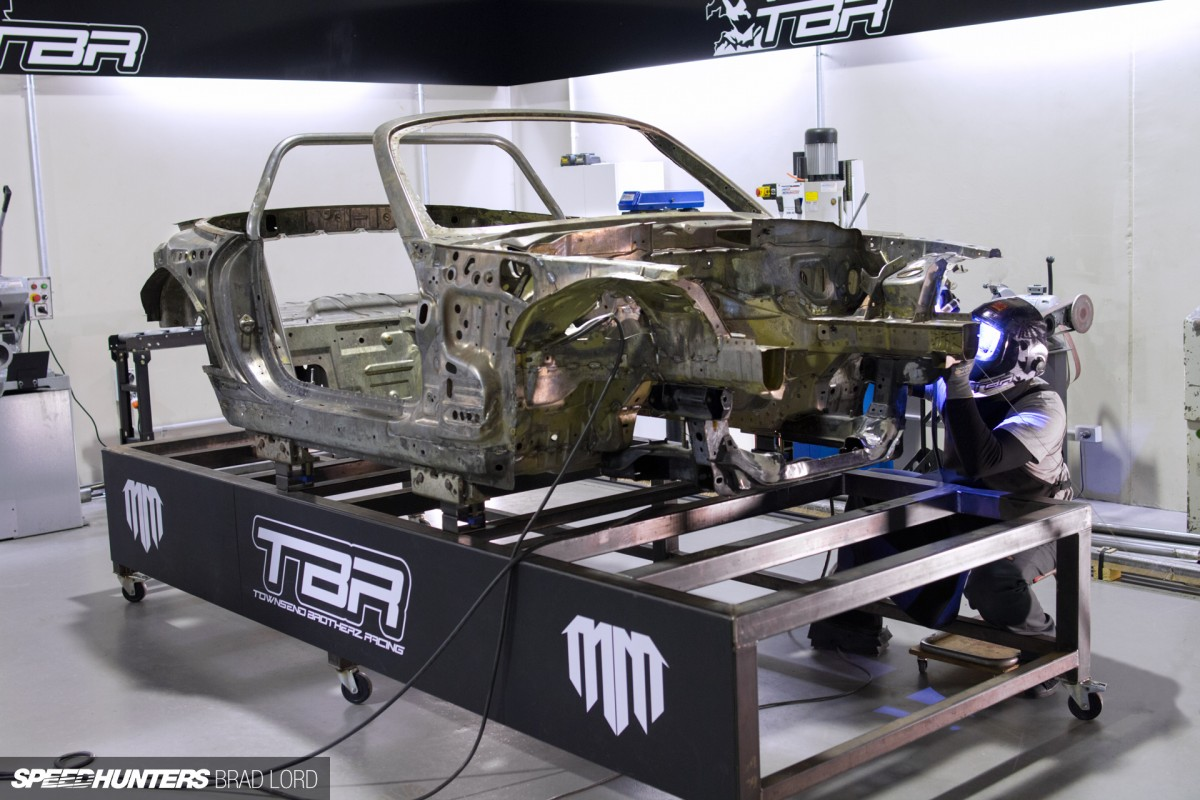 Radbul Mad Mike S New Chassis Takes Shape Speedhunters