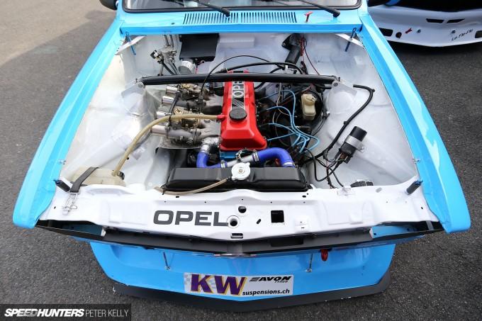 European Hill Climbing Personified Opel Kadett Howler