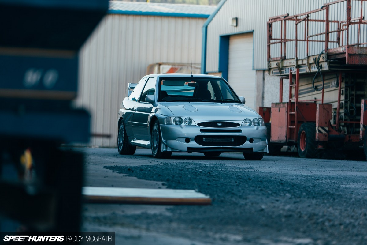 An Escort Cosworth With A Story Speedhunters