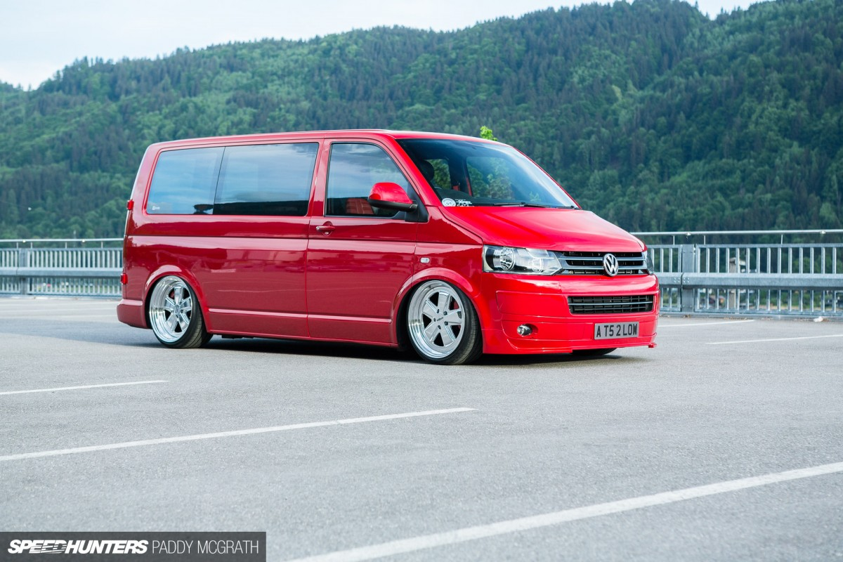vantastic a peerless volkswagen t5 speedhunters. Black Bedroom Furniture Sets. Home Design Ideas