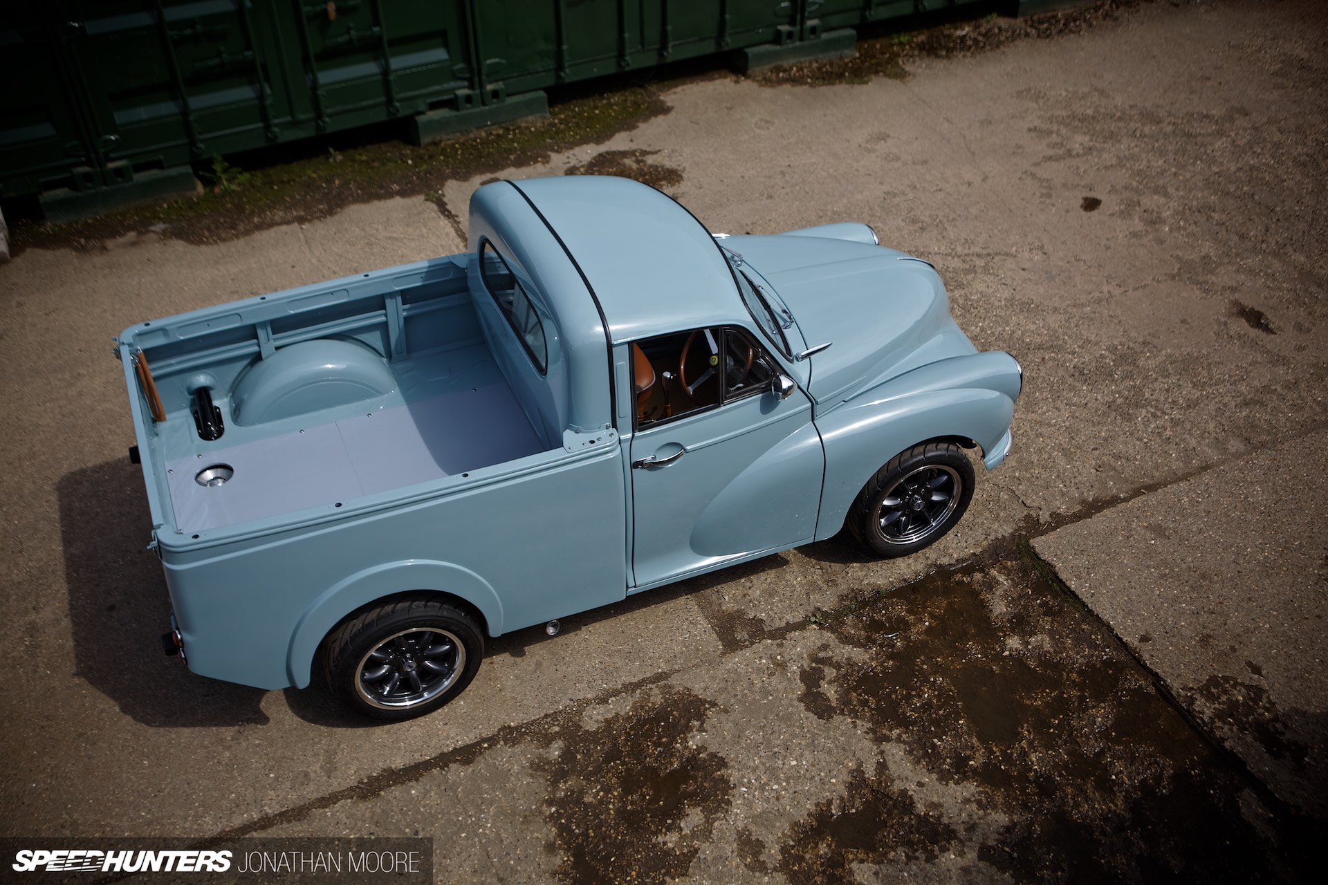 Minor Threat The Lotus Powered Pickup Speedhunters Tr6 Overdrive Wiring Diagram