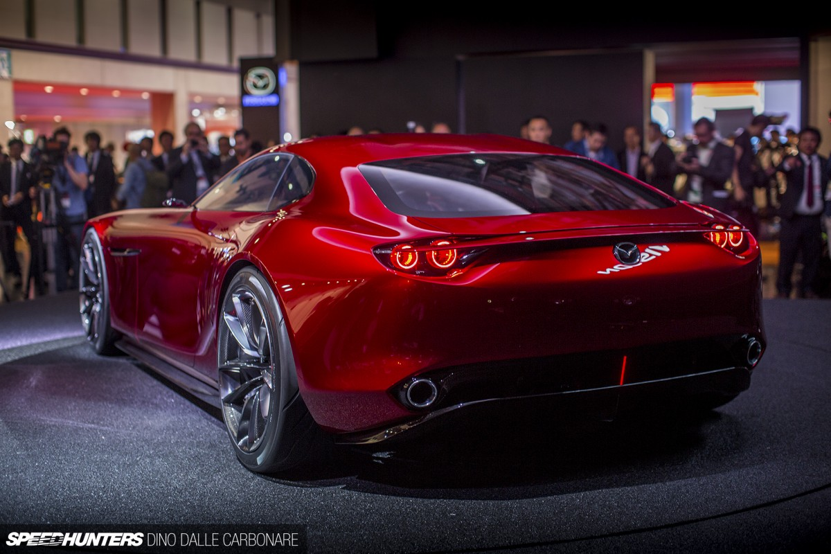 Mazda S Rotary Dream The Rx Vision Concept Revealed
