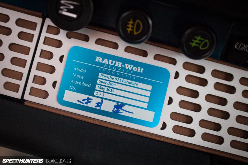 RAUH-Welt Redefined: The Terror Garage RWB Speedster - BMW