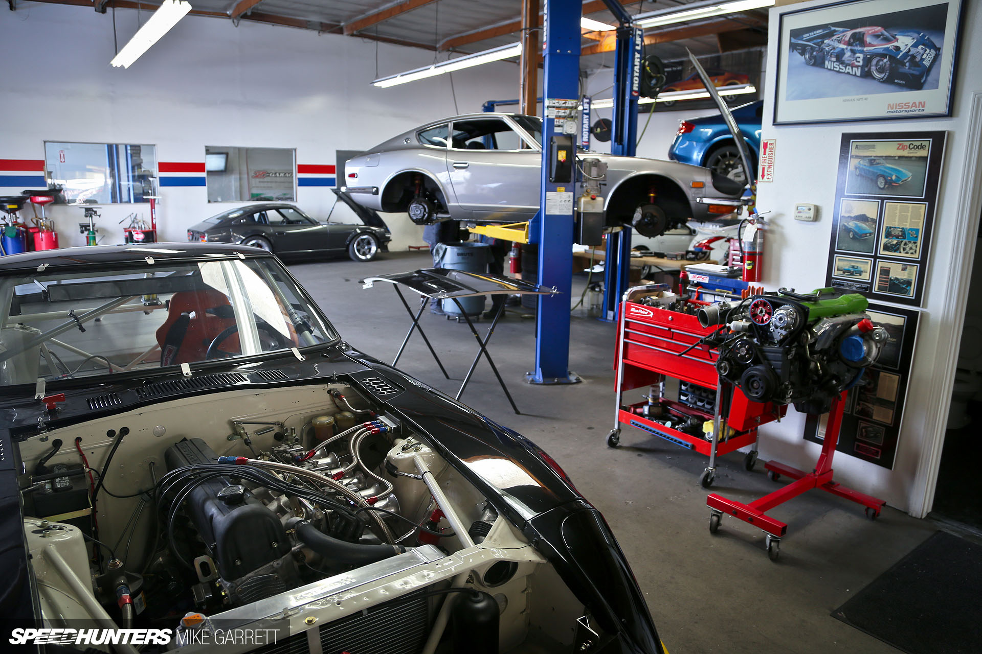 Car Workshop Near Me >> Z Car Garage Where Datsun Geeks Rule Speedhunters