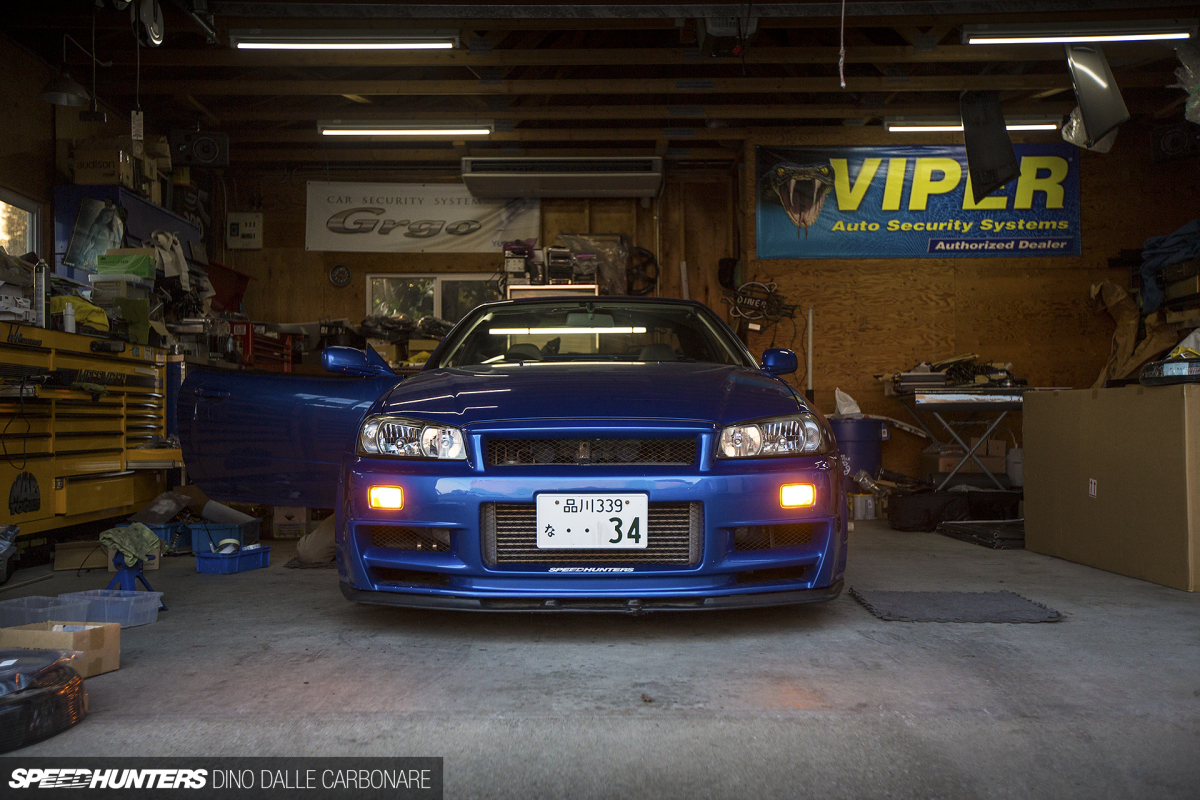 Project Gt R Gets An Led Upgrade Speedhunters Home Lighting Light Wiring Harness For Bars Vleds Gtr 26