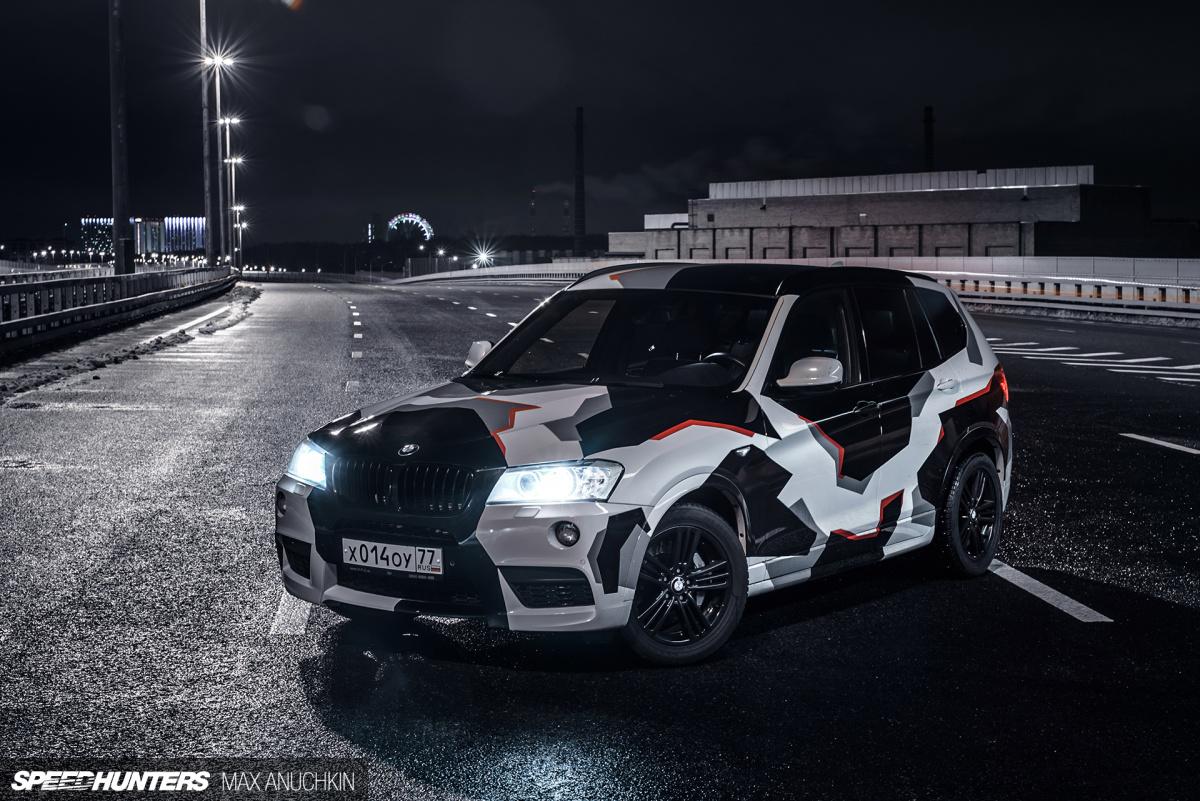 a bmw x3 with a triple turbo twist speedhunters. Black Bedroom Furniture Sets. Home Design Ideas