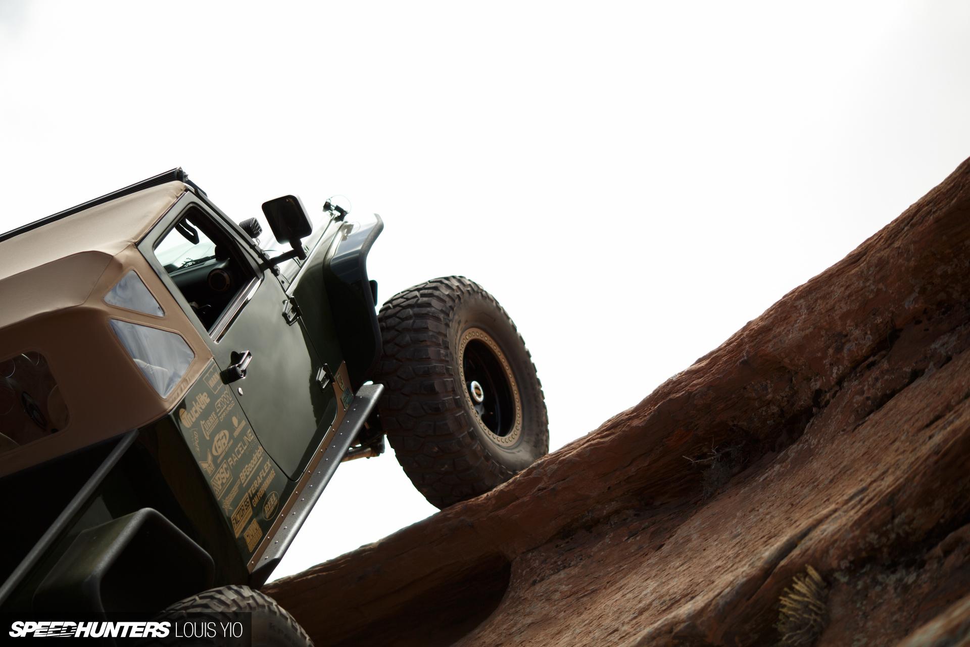 All Terrain Muscle Corvette Power In A Jeep Speedhunters