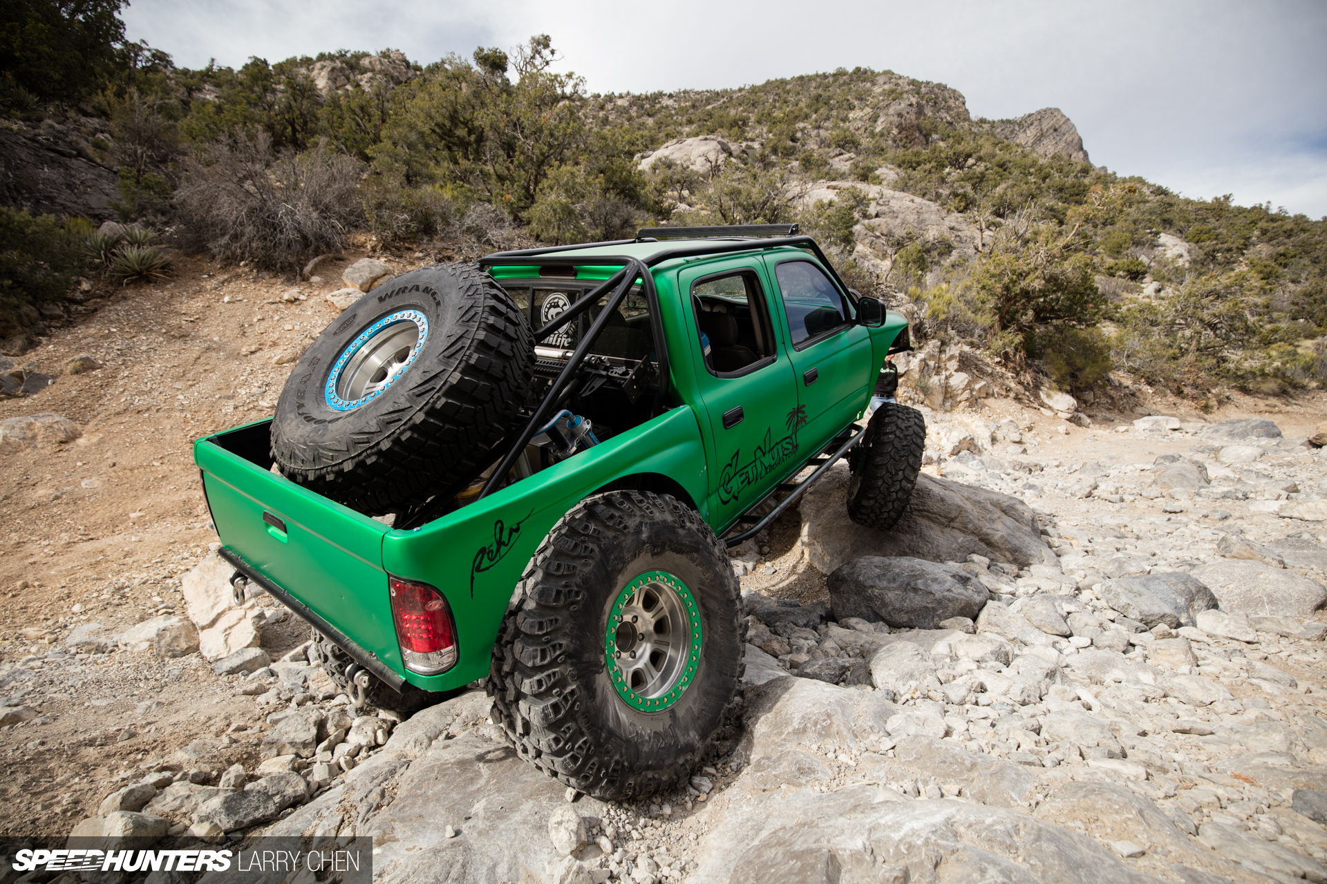 Getting Nuts Off Road Forrest Wang S Toyota Tacoma