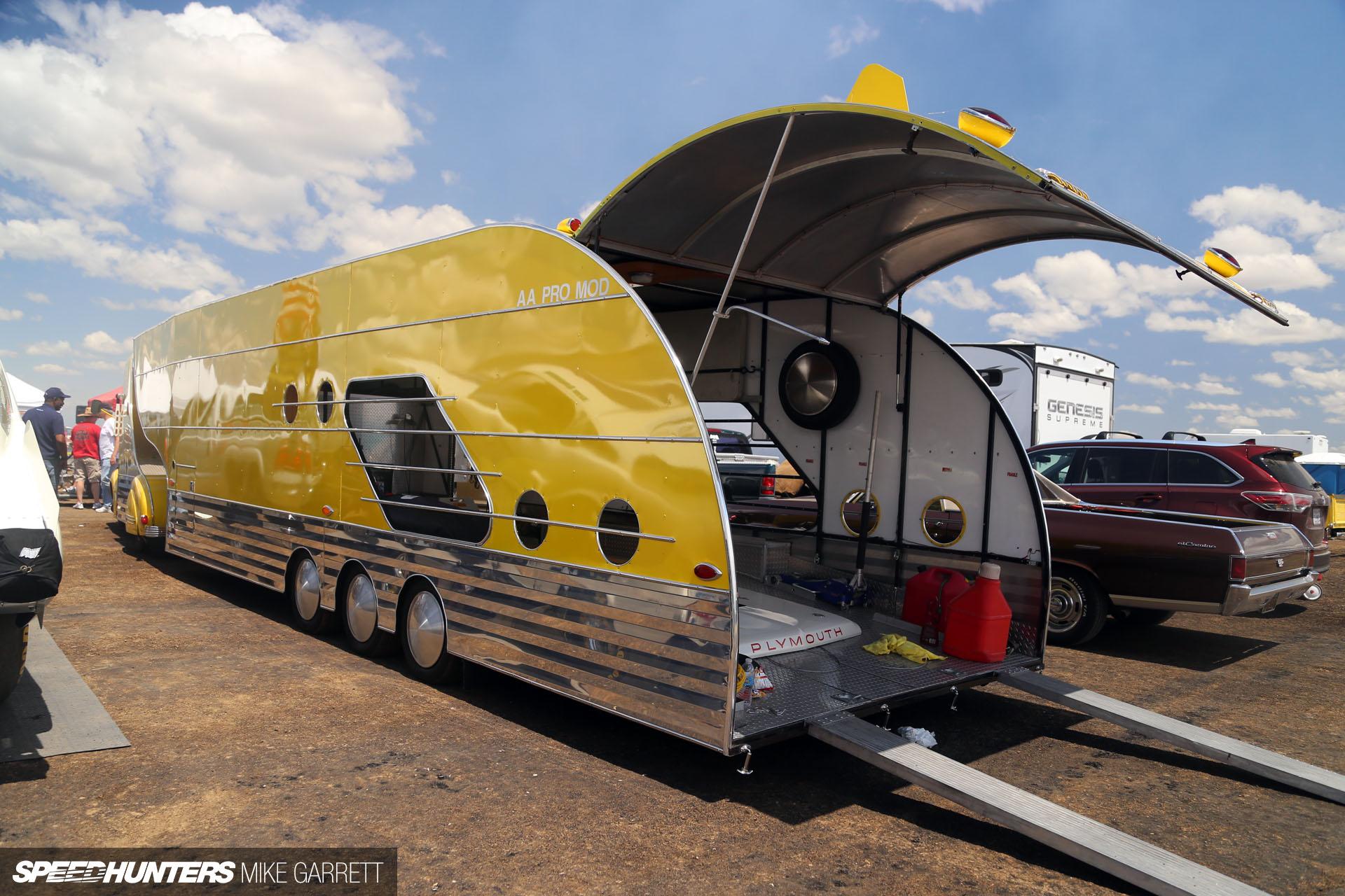 Race Car Hauling Streamliner Style Speedhunters