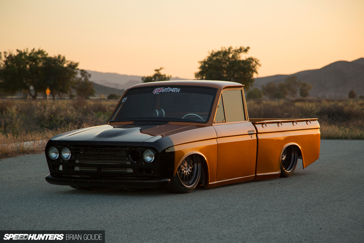 A Datsun Truck With Skyline Tricks Speedhunters