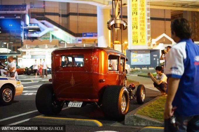 japan car meet 2016 military