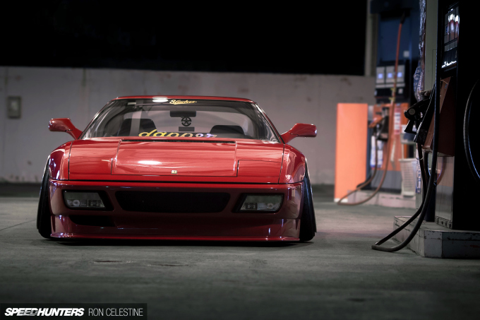 How To Slam A Ferrari - Speedhunters