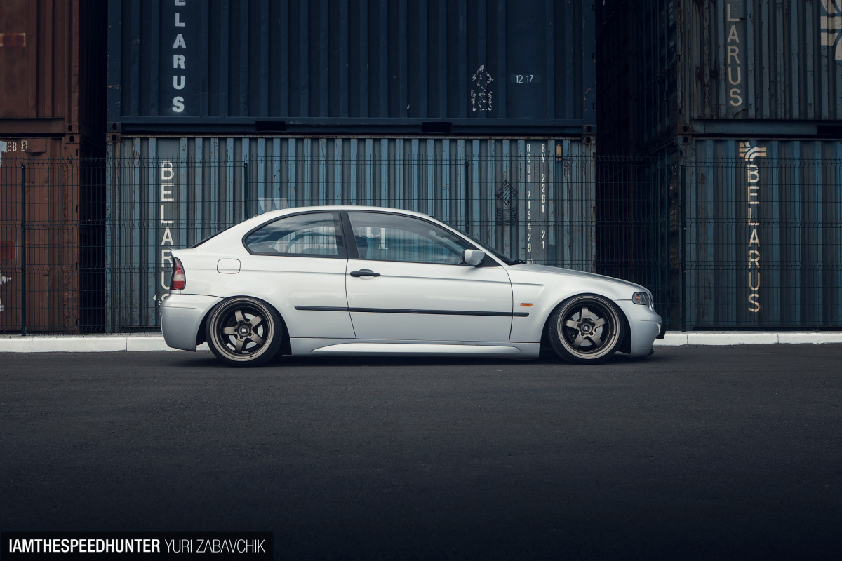 A Slammed Bmw Compact From Belarus Speedhunters