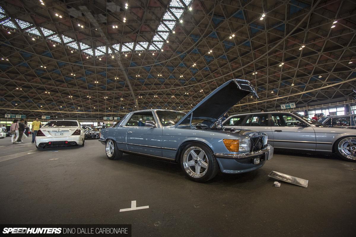 How To Restomod A 450SLC, JDM Tuner Style - Mercedes Benz SLK