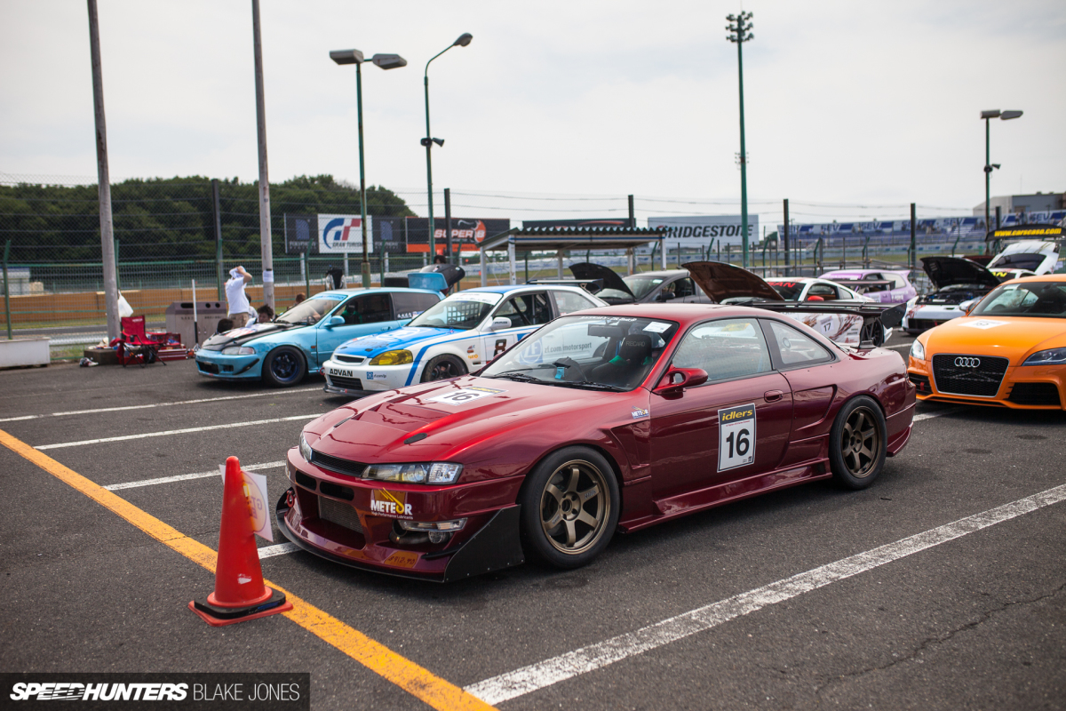 caught in the grip a time attacking s14 speedhunters