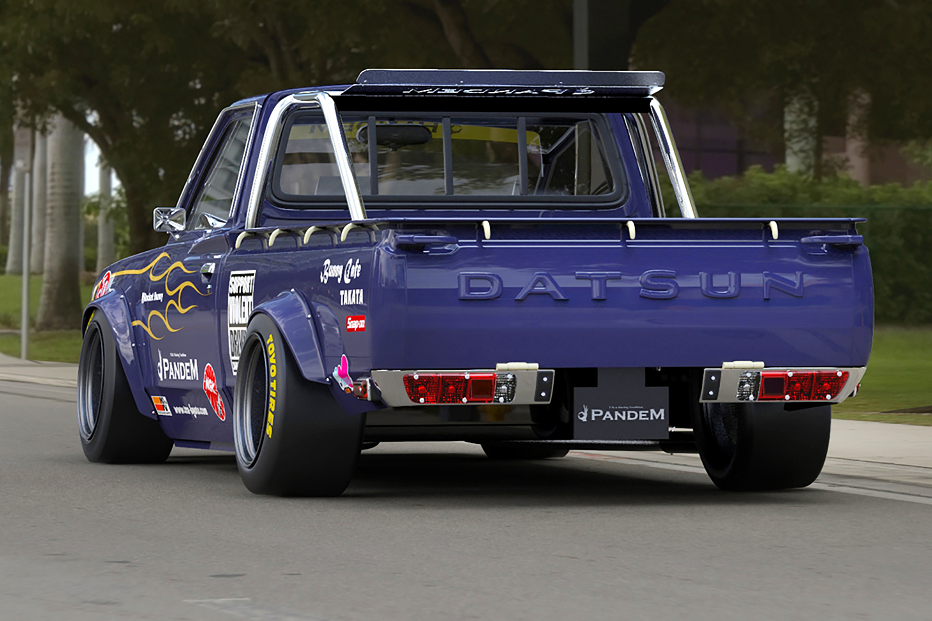 Kei Miura's Pandem Touch For The Datsun 620 - Speedhunters