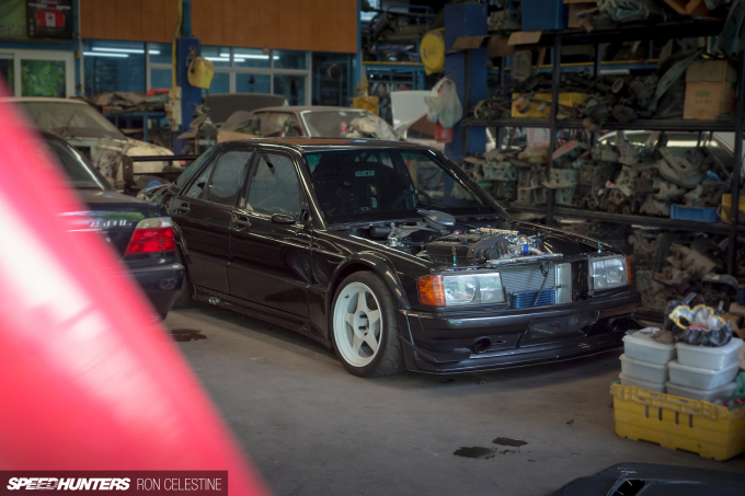 Realizing A 190E Racing Dream - Speedhunters